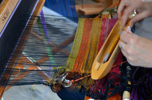 weaving the frill
