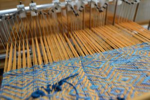 weaving with the rail reed