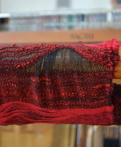 weaving the cloth