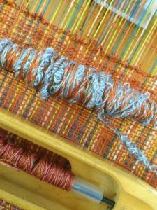 Yarn made on the spindle