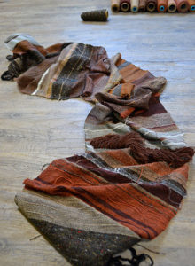 Woven cloth by Emily