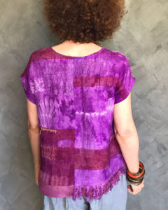 Maya top handwoven back
