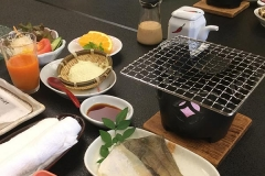 The most fantastic breakfast even in a Ryokan